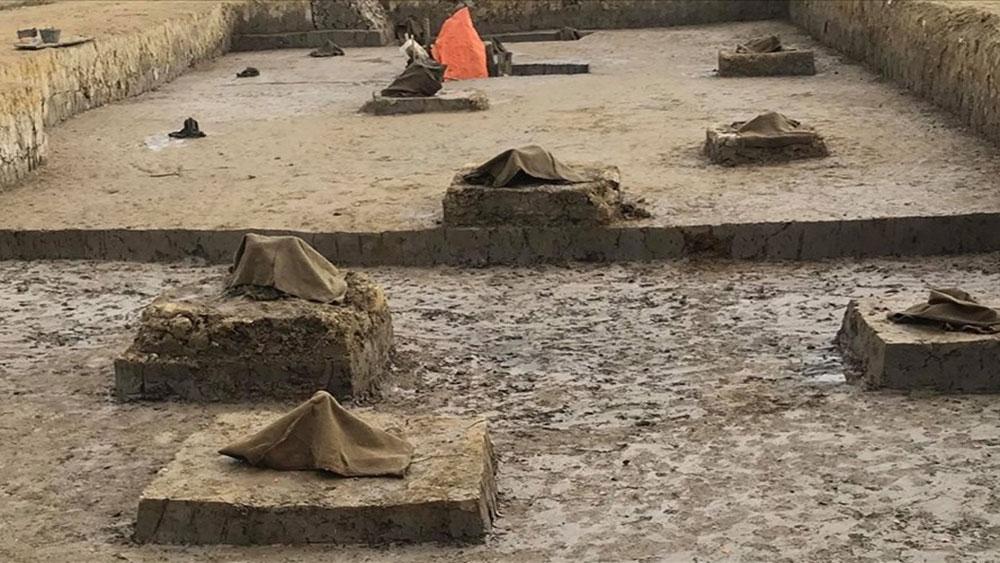 Phát lộ 13 cọc gỗ có thể liên quan đến trận chiến sông Bạch Đằng
